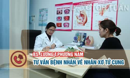 Bác sĩ Phương Nam, tư vấn bệnh nhân xơ tử cung