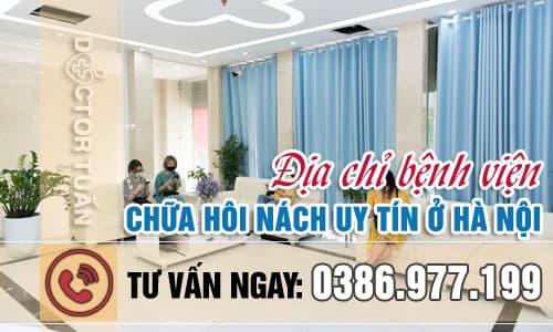 Địa chỉ bệnh viện chữa hôi nách uy tín ở Hà Nội