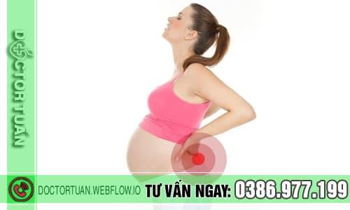 Đau lưng khi mang thai có nguy hiểm không?