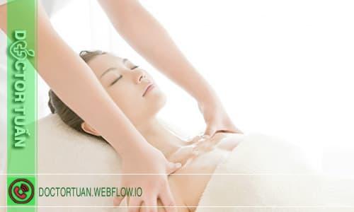 Massage làm tăng kích thước vòng 1 tại nhà