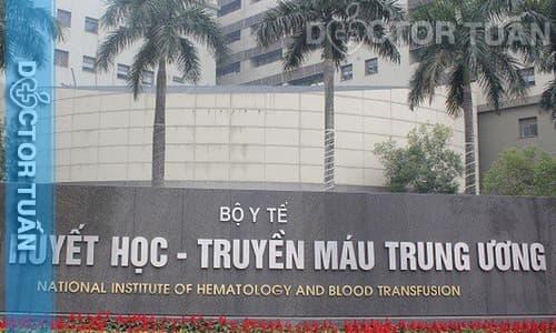 Xét nghiệm máu tại Viện Huyết học