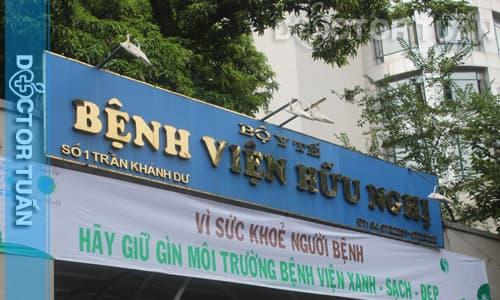 Bệnh viện hữu nghị địa chỉ xét nghiệm máu tốt ở Hà Nội