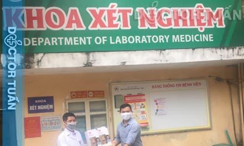 Khoa xét nghiệm bệnh viện Việt Nam Cu Ba