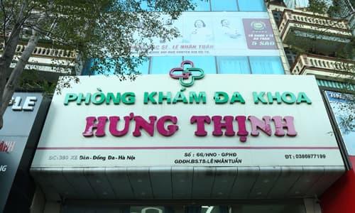 Phòng khám đa khoa Hưng Thịnh, địa chỉ uy tín khám chữa bệnh