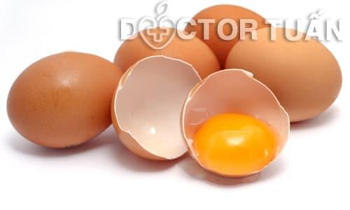 Hướng dẫn trị mụn trứng cá bằng trứng gà
