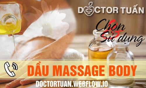 Chọn và sử dụng dầu massage body