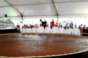 Ohio's world winning largest pumpkin pie.