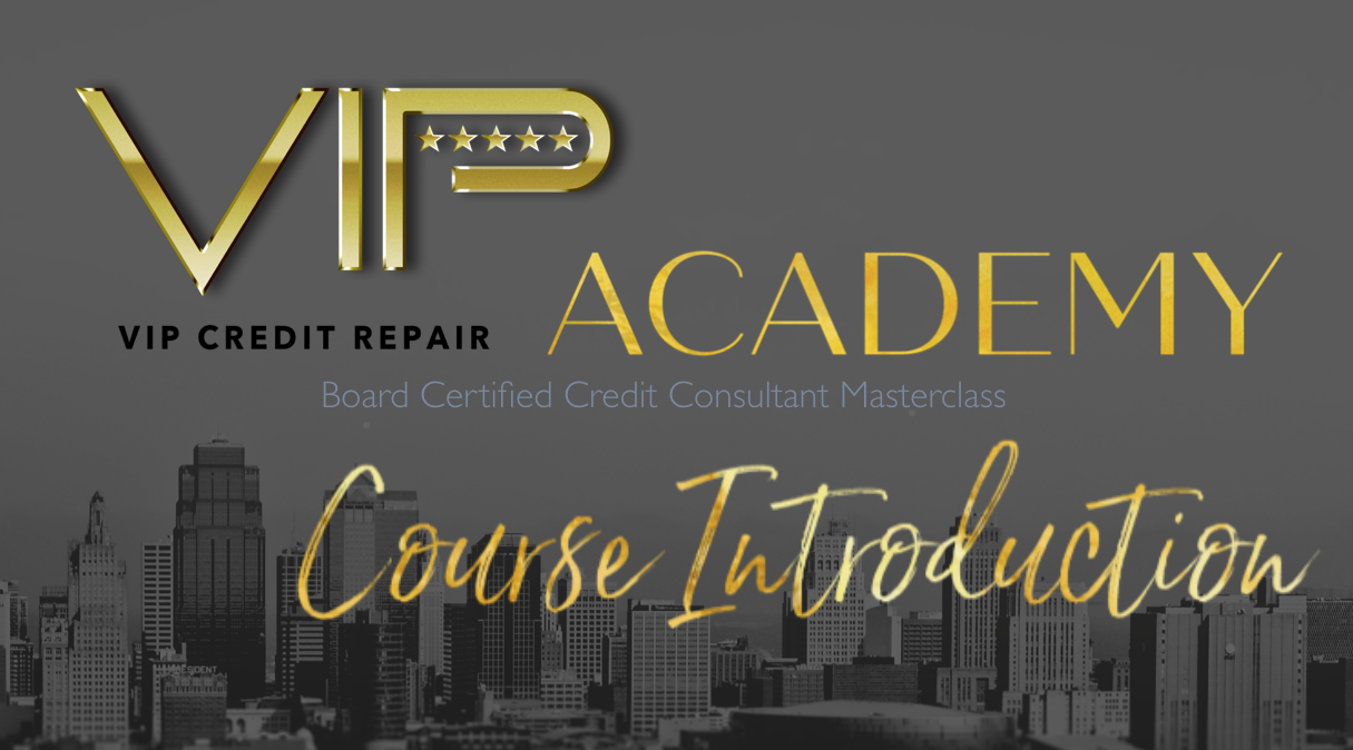 Certified Credit Consultant Masterclass