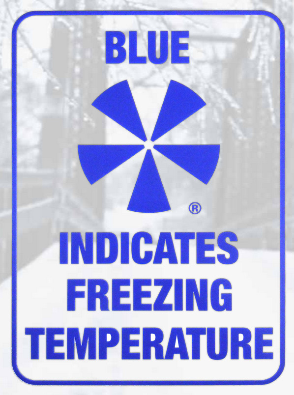 icealert® explanatory sign