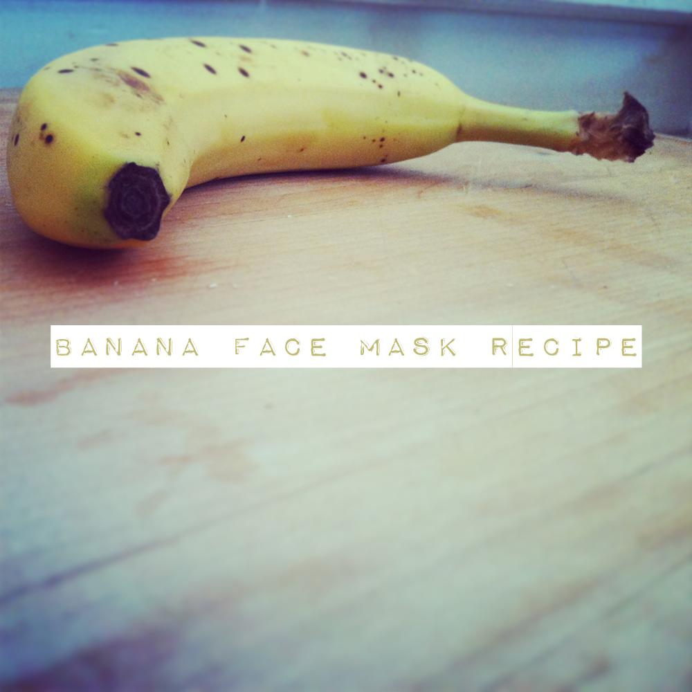BananaFaceMask