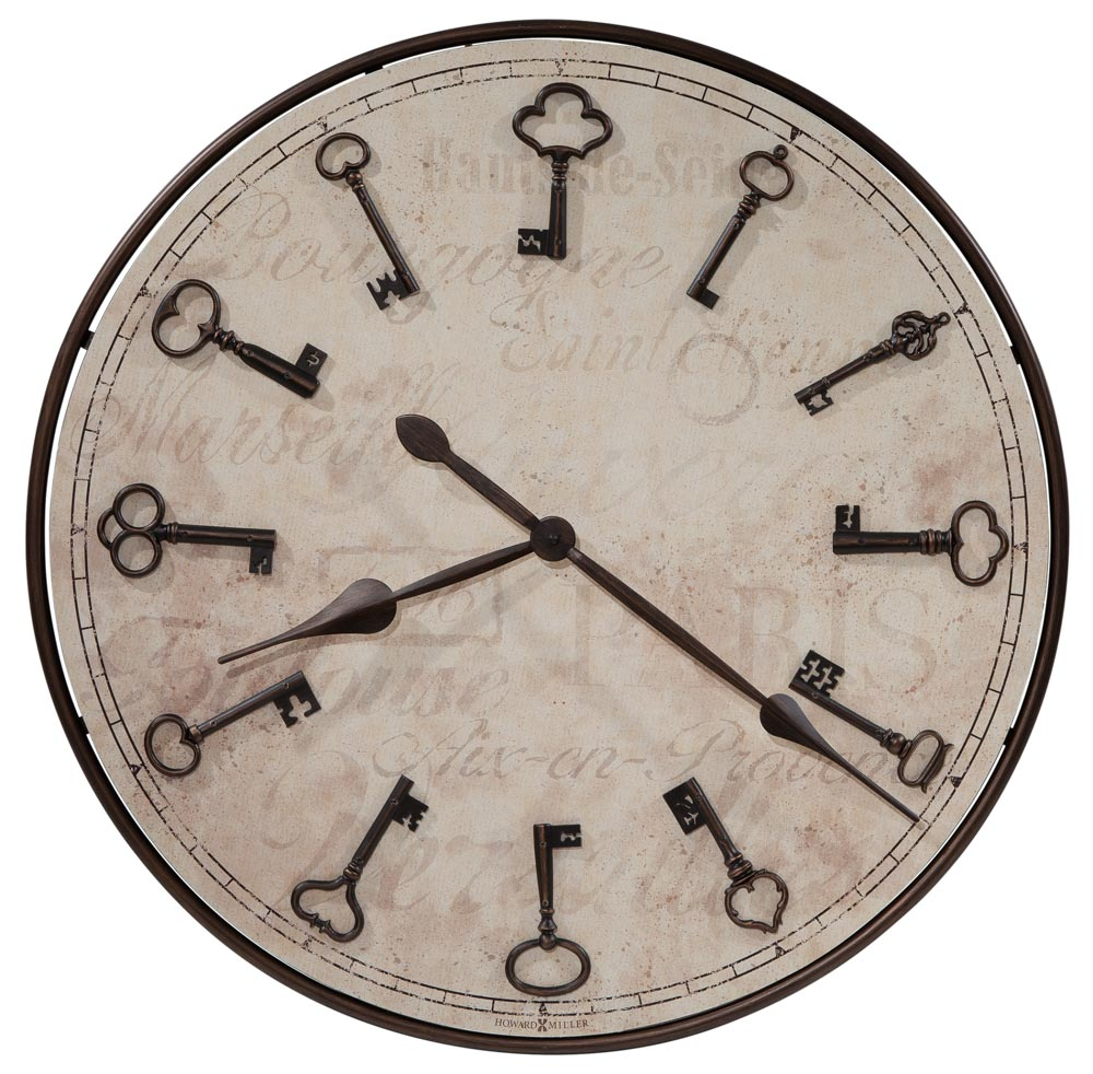 Cle Du Ville Wall Clock Howard Miller
