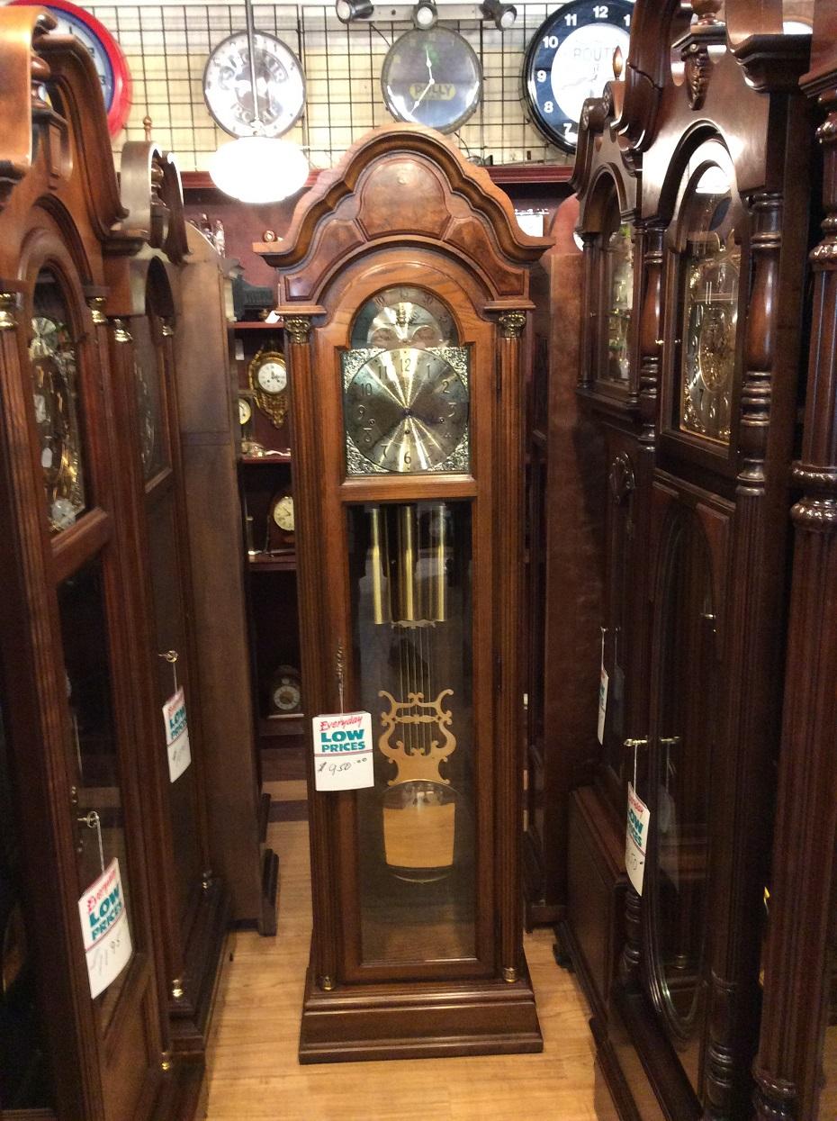 Pearl Grandfather Clock