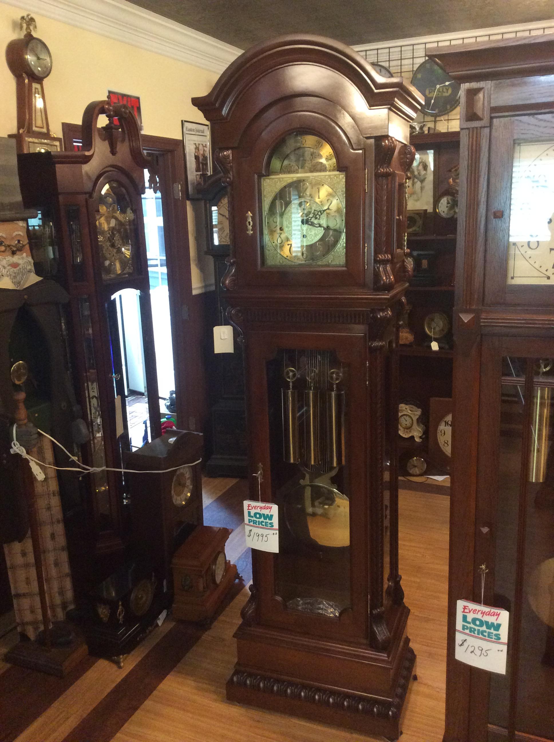 Refurbished Grandfather Clocks