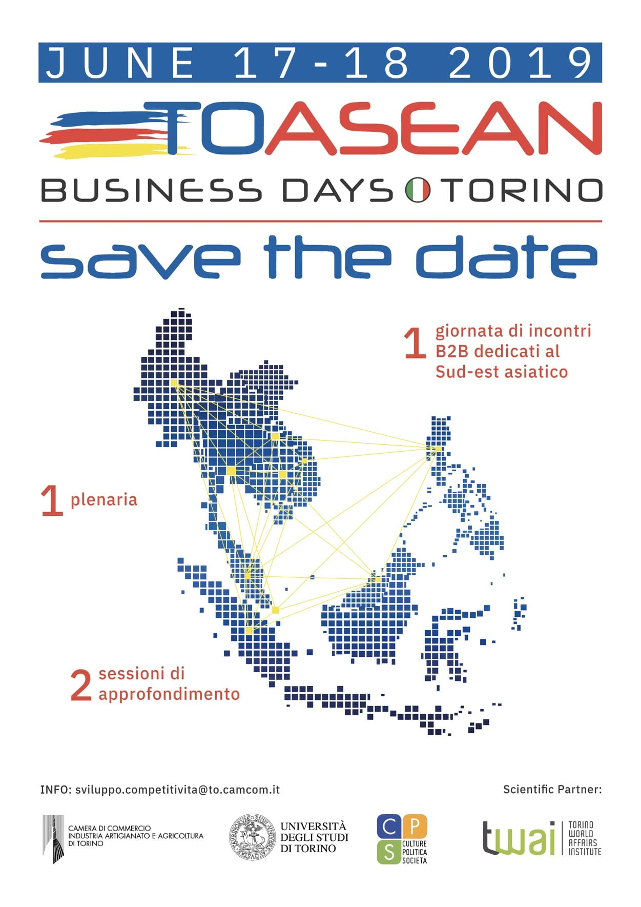 """Image result for """"To ASEAN"""" Italy  Turin 2019"""