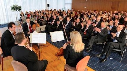 Übergabe der Bachelor-Urkunden der Hochschule der Deutschen Bundesbank in Hachenburg