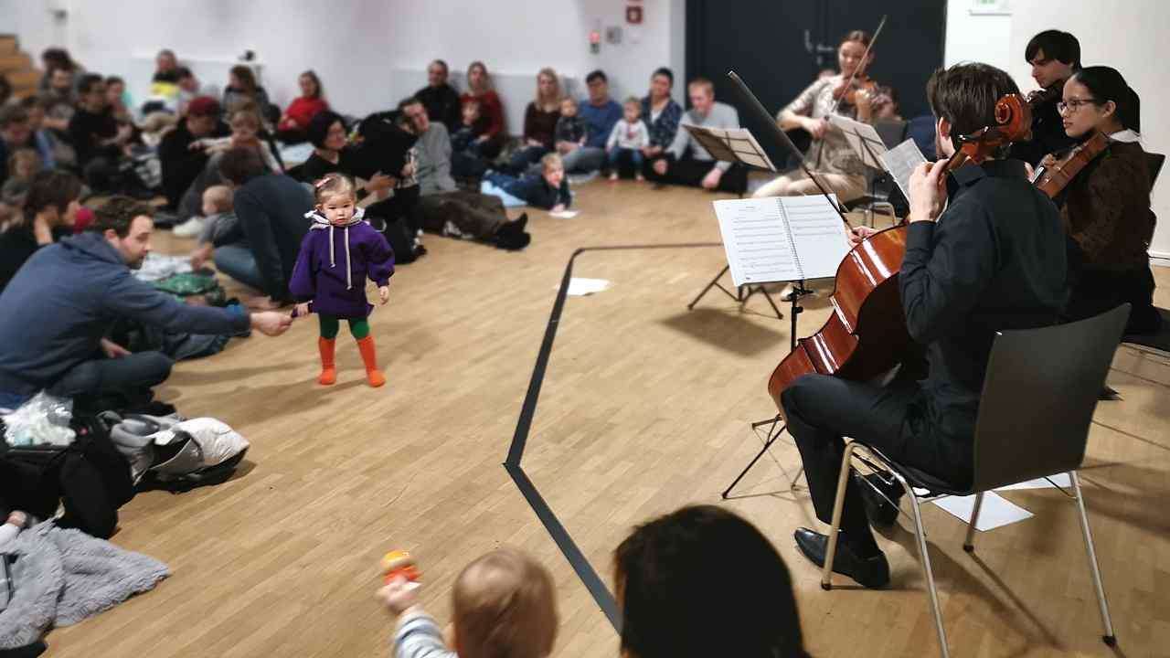 Musik für ganz junge Ohren - Das Babykonzert