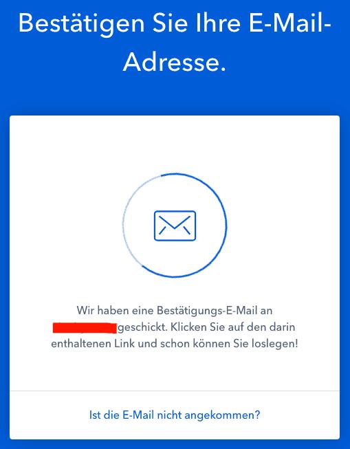E-mailbevestiging Coinbase
