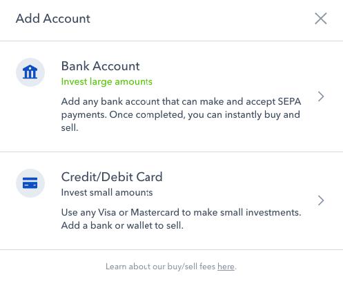 Bank hinzufügen