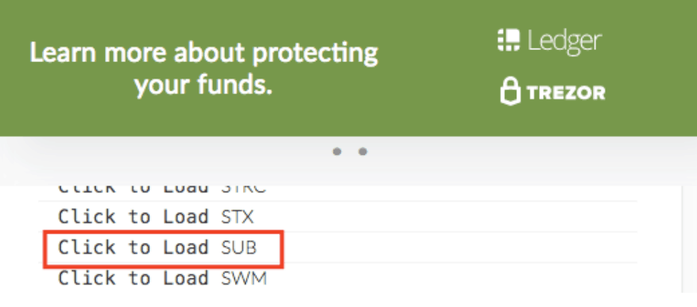 Protect your funds