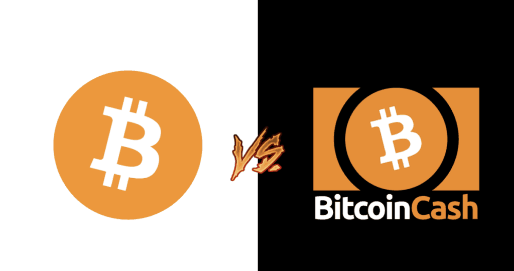 Bitcoin Vs BTC Cash