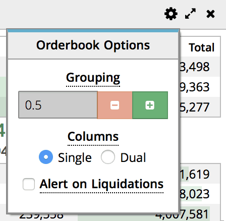 Order book options