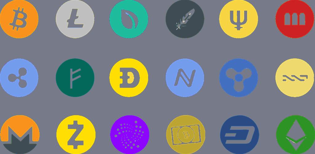 Altcoin Münzen
