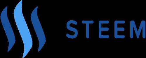 Логотип Steem