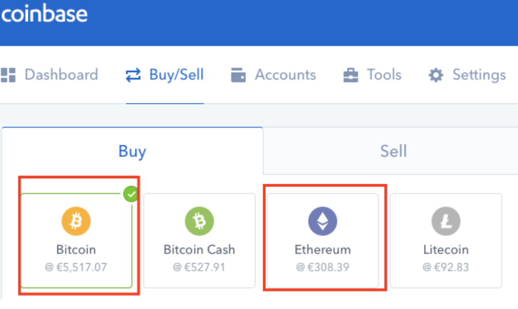 Coinbase Buy Cryptopair