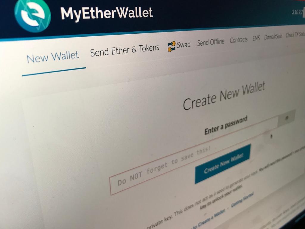 Logotipo de MyEtherWallet