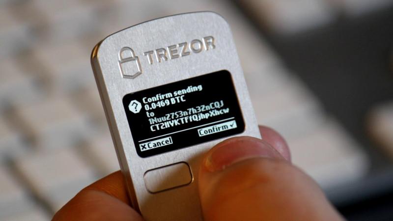 Logo Trezor