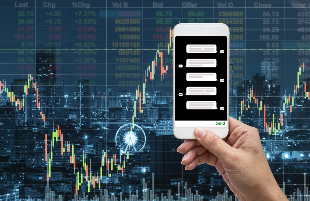 Trading live information