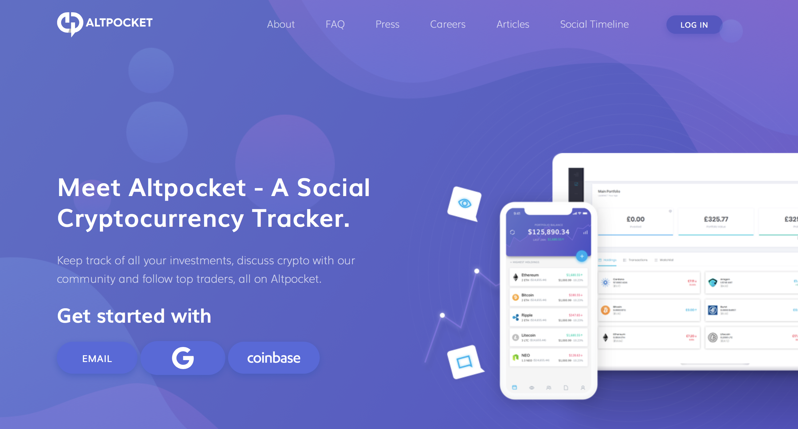 Altpocket Website