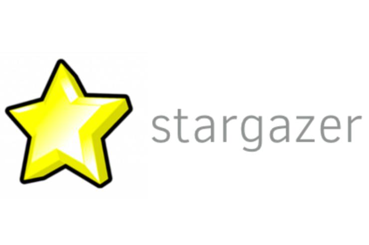 Stargazer plånbokslogotyp