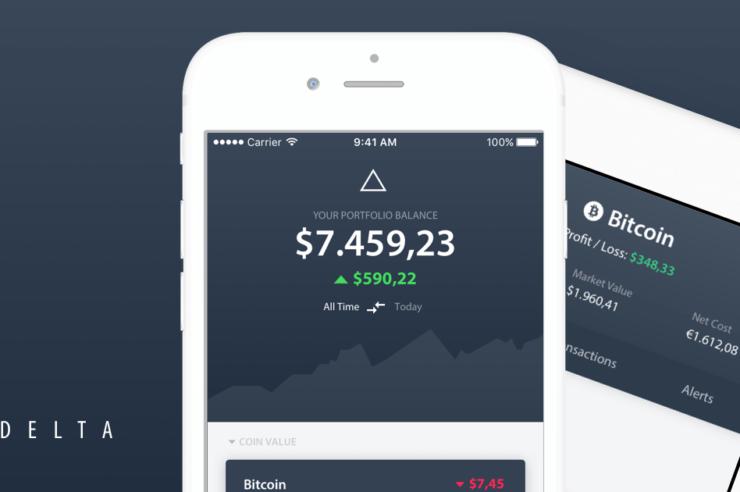 Delta crypto tracker app