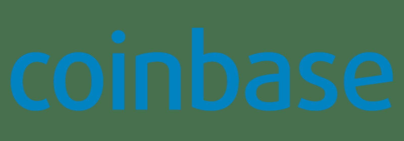 Logotipo de intercambio de criptomonedas de Coinbase
