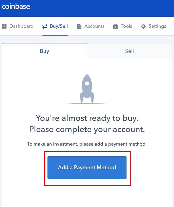 C贸mo agregar un m茅todo de pago a su cuenta de Coinbase