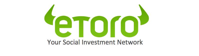 Logotipo del br贸ker de CFD de eToro