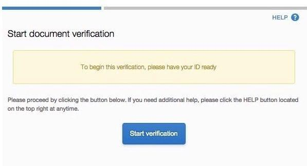 Coinbase Singapore ID verification