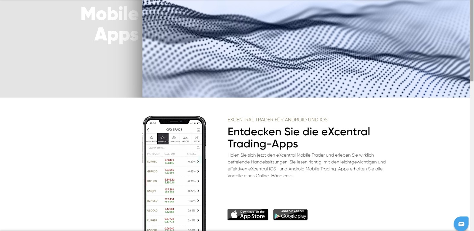 ExCentral Mobile App