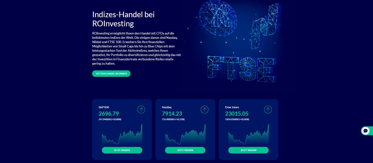 ROInvesting indices trading