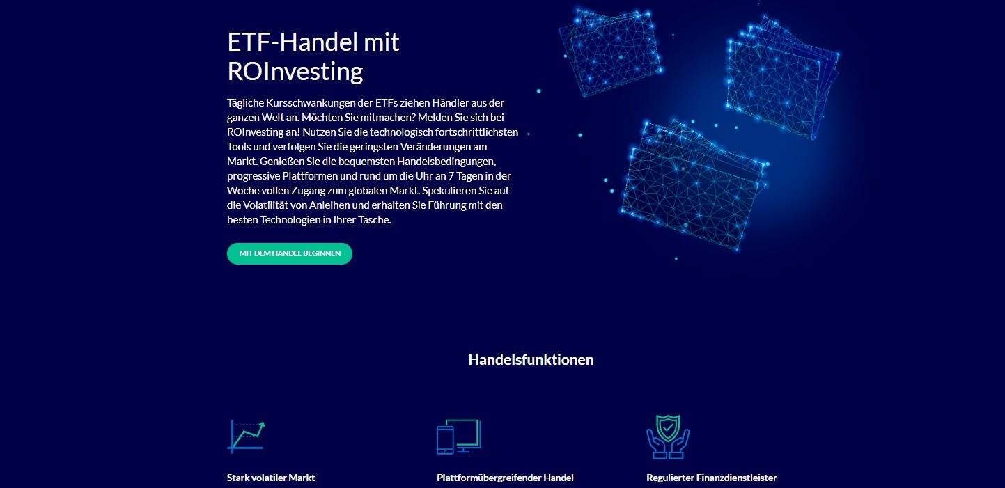 ROInvesting Торговля ETF