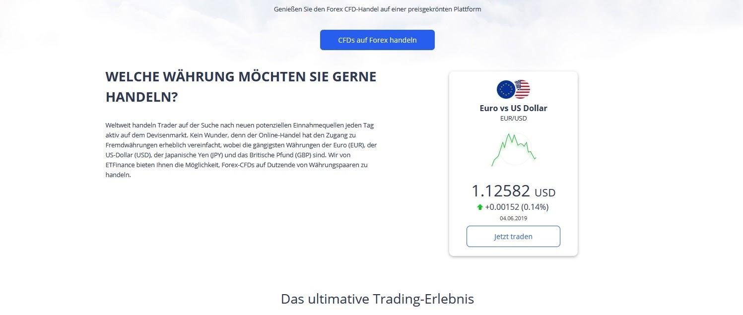 ETFinance.eu Forex trading