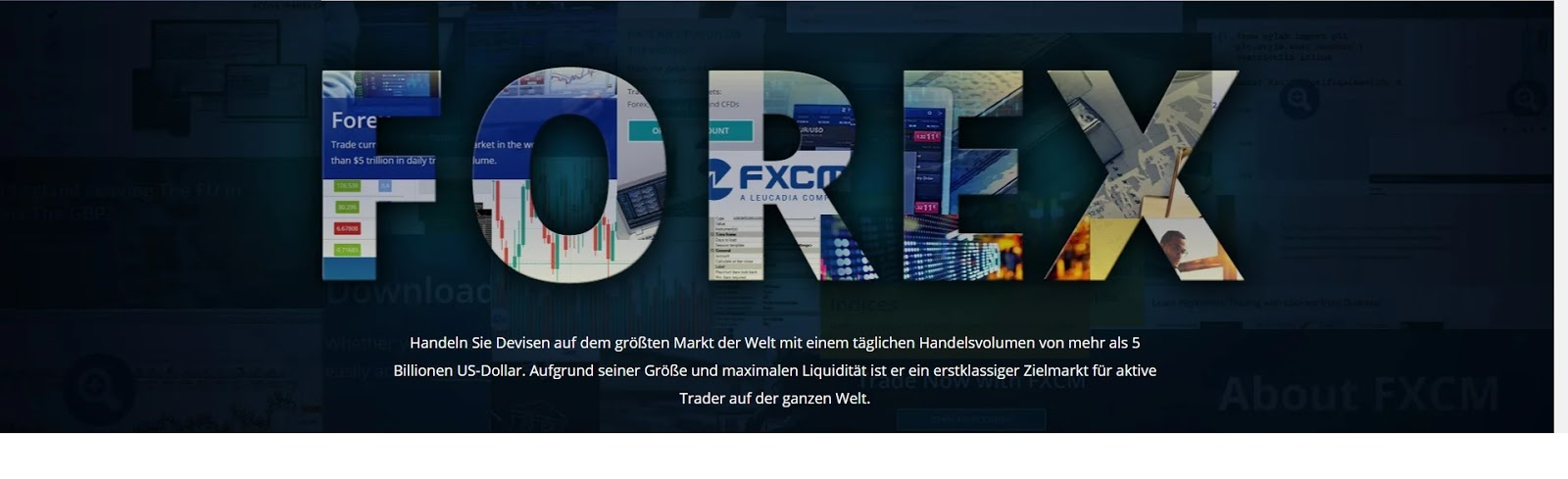 Trading Forex FXCM