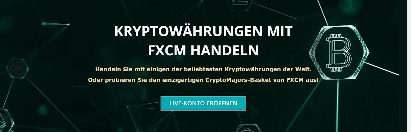 Kryptowährungen mit FXCM handeln
