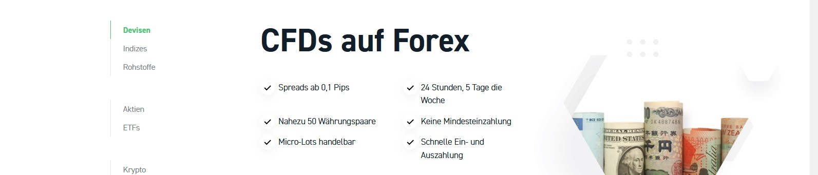 Négociation XTB Forex