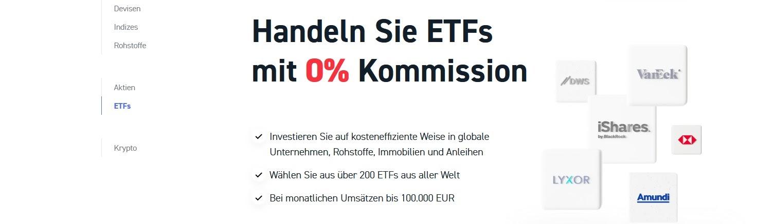 Négociation XTB ETF