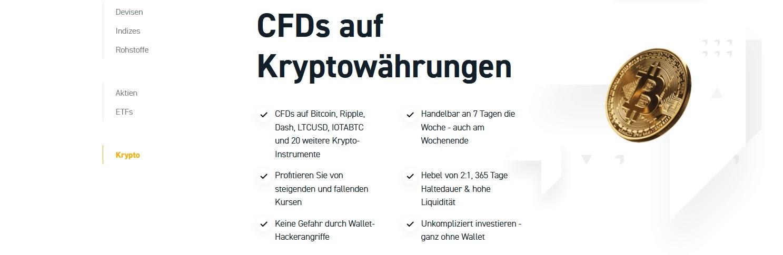 Trading XTB en crypto-monnaies