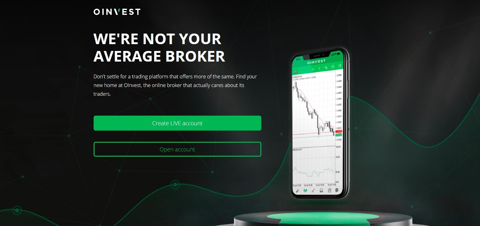 OInvest website