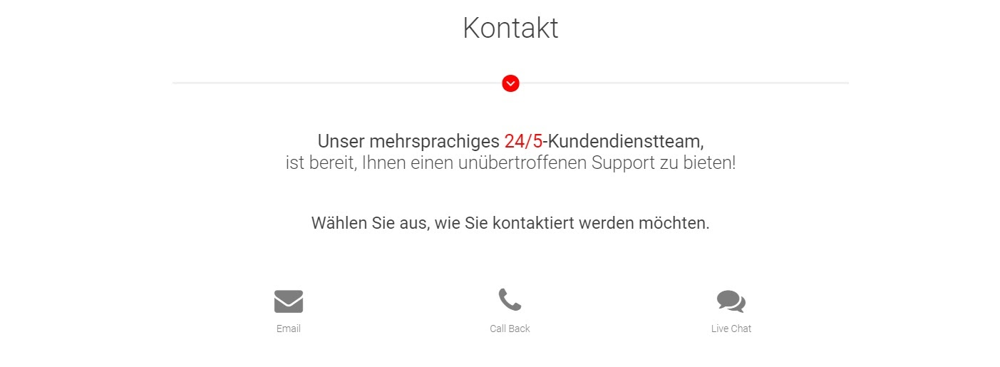 BDSwiss customer service and support
