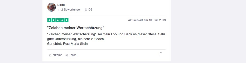 BDSwiss positive user opinion